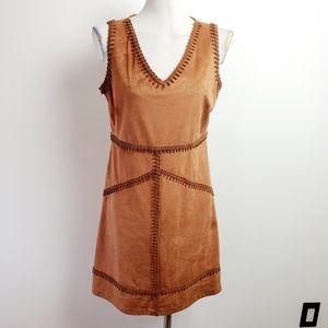 Nanette Lepore tan dress size 8